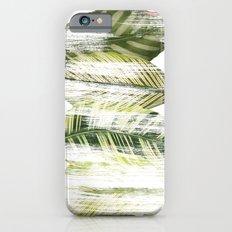 Brushed leaves iPhone 6 Slim Case
