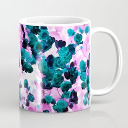 Negative Roses Print Coffee Mug