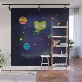 Planet Hopping Wall Mural