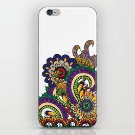 Hello 70s! Corally iPhone Skin