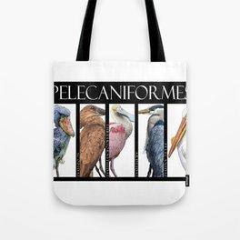 Pelecaniforms Tote Bag