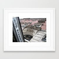 baroque Framed Art Prints featuring Baroque by Kammy Nature Prints