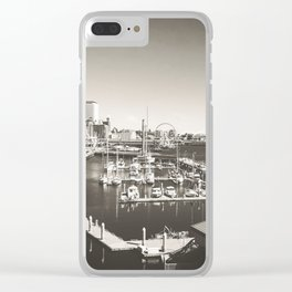 Gray Seattle Clear iPhone Case