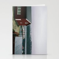 boats Stationery Cards featuring Boats by A. Serdyuk