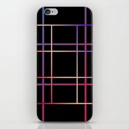 Geometric patchwork12 iPhone Skin