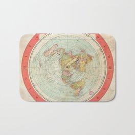 Flat Earth Bath Mat