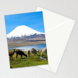 Chungara Lake, Chile Stationery Cards
