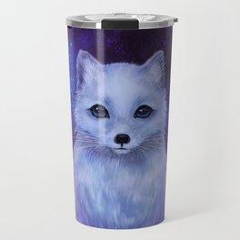 Arctic Fox (color version II.) Travel Mug
