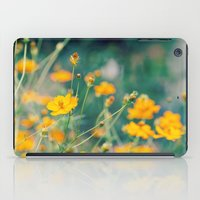 aperture iPad Cases featuring Orange Cosmos by Laura Ruth