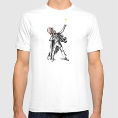 Chief of The Court MEDIUM White Mens Fitted Tee