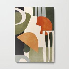 Abstract Art 42 Metal Print