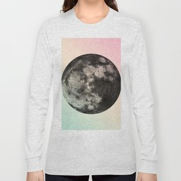 Not My Day, Moon. Long Sleeve T-shirt