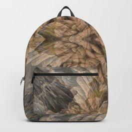 SOFT RAINY SEASCAPE MENDOCINO COAST OIL PAINTING Backpack