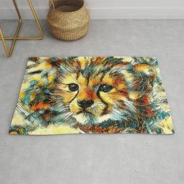 AnimalArt_Cheetah_20170602_by_JAMColorsSpecial Rug