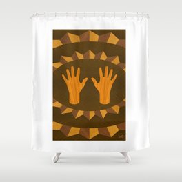 The ASL Marquetry - (ASL Marquetry Series) Shower Curtain