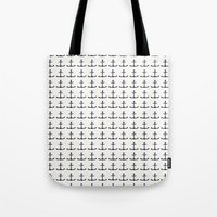 anchors Tote Bags featuring anchors by Kirk and Wood