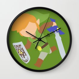 Toon Link(Smash)Classic Wall Clock