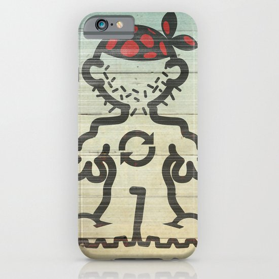 upcycle pirate iPhone & iPod Case