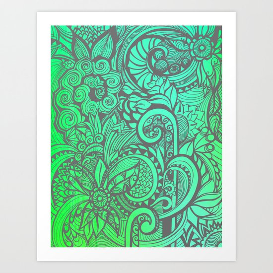 Summertime & the Livin's Easy Art Print
