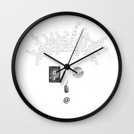 Geek | The world inside your head  Wall Clock