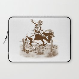 Dude Ranch Laptop Sleeve