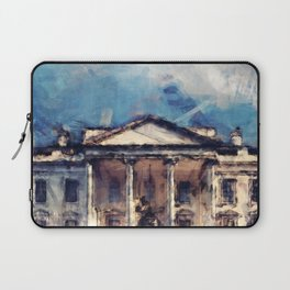 White House On A Sunny Day Laptop Sleeve