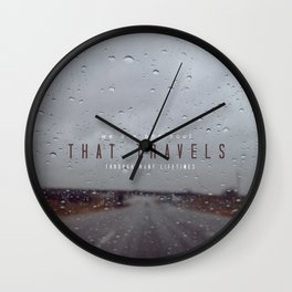 In search of love Wall Clock