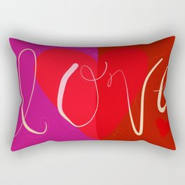 SURRENDER TO LOVE ALWAYS Rectangular Pillow