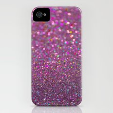 Partytime in Pink Slim Case iPhone (4, 4s)