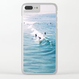 Catch A Wave Clear iPhone Case