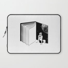 Reading is Dreaming with Your Eyes Open Laptop Sleeve