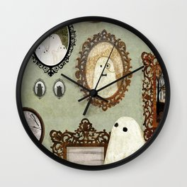 There's A Ghost in the Portrait Gallery Wall Clock