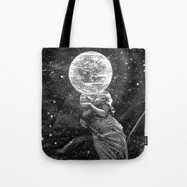 Shine On Moon Goddess Tote Bag