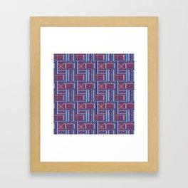 Ceylon sofa Framed Art Print