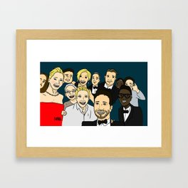Selfie. Framed Art Print