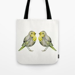 Little Yellow Birds Tote Bag