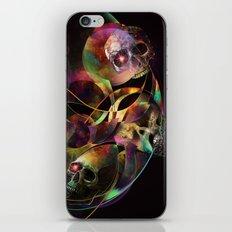 Vivid Skulls of Life iPhone Skin