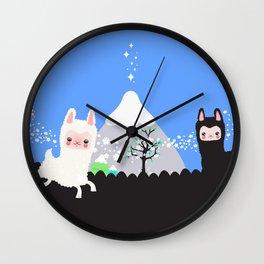 Run alpaca, run! Wall Clock