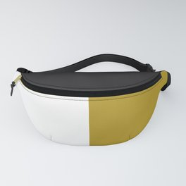 Blocked Olive Fanny Pack