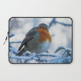 Winter Robin Laptop Sleeve