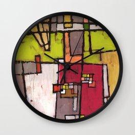 Noisy Neighborhood Wall Clock