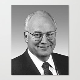 Dick Cheney, Vice President of the United States Canvas Print