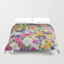 Flower and Garden Duvet Cover