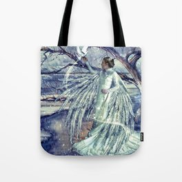 WINTER ANGEL Tote Bag