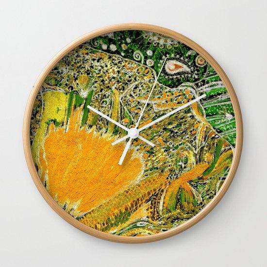 Jardin 2 Wall Clock