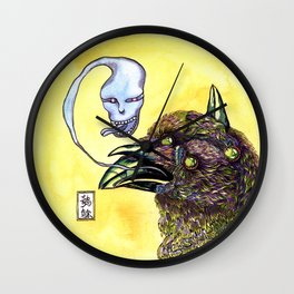 Chinese Mythic Creatures and Legends 【山海神兽·插画】   Wall Clock