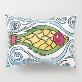 Buster the Sea Bass Pillow Sham