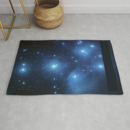 Seven Sisters Star Cluster Pleiades Messier 45 Rug