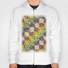 Pattern circles joined Hoody