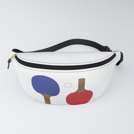 Ping Pong Rackets Fanny Pack